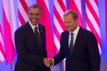 tusk with obama